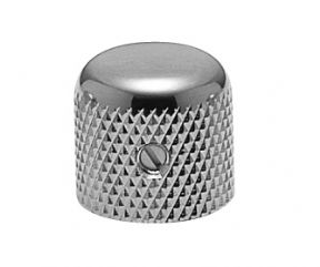 Brass Dome Knob Chrome